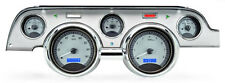 1967 1968 Mustang gauge cluster Dakota Digital VHX ford SILVER BLUE mph