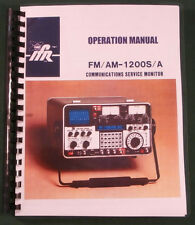 IFR FM/AM 1200S/A COMMUNICATIONS MONITOR OPERATION MANUAL