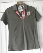 JOULES  - BROWN SIMON SHIRT/TOP - SIZE 8 - LOOSE FIT