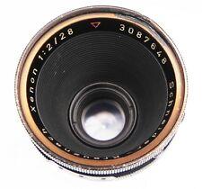 Schneider 28mm f2 Xenon Arriflex standard mount  #3087648
