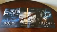 """Star Trek """"The Future Begins"""" 2010 and """"Into the Darkness"""" 2014 Movie Calenders"""