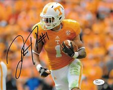 JALEN HURD HAND SIGNED TENNESSEE VOLUNTEERS 8X10 PHOTO W/ JSA COA