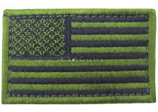 """CONDOR OD GREEN USA 2"""" x 3"""" US United States Flag Military Tactical Velcro Patch"""