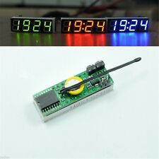 M472 Red 3 in 1 LED DS3231SN Digital Clock Temperature Voltage Module DIY