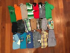 LOT Boy Summer Clothes Size 2T Shorts Shirts GAP POLO Janie and Jack Carter's