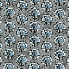 V-8 Logo, Classic Cars, Gray Back, Old Guys Rule, Robert Kaufman (By 1/2 yard)