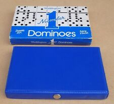 WADDINGTONS Number 1 Double Six Dominoes with Case