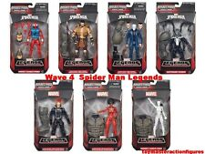"MARVEL LEGENDS 6 "" INFINITE AMAZING SPIDERMAN WAVE 4 ALL 7 NEW FIGURES In Stock"