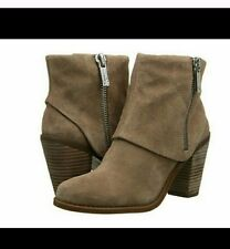 Jessica Simpson Caufield Women  Round Toe Suede Tan Ankle Boot