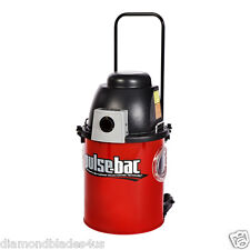 Pulse-Bac 550 HEPA Heavy Duty Dust Collector Vac 4 Concrete Grinder No Dust