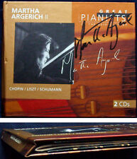 ARGERICH 2 Signed GREAT PIANISTS OF THE 20TH CENTURY Chopin 24 Preludes Liszt