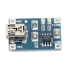 Mini USB Lithium Battery Charging Board Li Ion Li  Po Charger Module 5V 1A CC CV