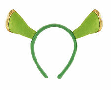 Green OGRE SHREK Ears Headband Unisex For Fancy Dress Accessory