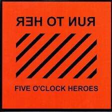 "FIVE O'CLOCK HEROES - RUN TO HER - 7"" SINGLE - MINT"