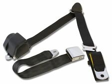 Mustang Falcon Retractable  3-Point Shoulder seat belt Black