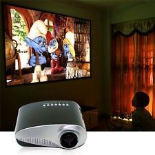 Mini Portable Home Cinema Theater LED Projector HD Multimedia USB VGA HDMI AV SD