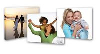 """Personalised Photo Canvas Print Picture Image to Large A1 30"""" x 20"""""""