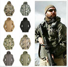 Men Outdoor Hunting Camping Waterproof Coats Jackets Suit Army Coat Hoody Jacket