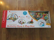 Infantino Brand Activity Gym and Play Mat Twist and Fold NEW