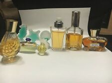 9 Lot Of Women's Parfumes Perfumes Wind Song, Charlie And Avon
