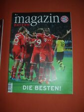 Bayern - Magazin Jg 8/65 30.11..2013 - FC Bayern München - Braunschweig / Hoeneß