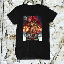 Resident Evil 20th Anniv Playstation PS4 Xbox One Video Games Men Shirt Tshirt T