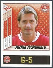 PANINI SCOTTISH PREMIER LEAGUE 2008- #031-ABERDEEN-JACKIE McNAMARA