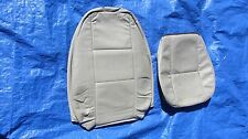 94 95 Saab 900 OEM Beige Driver Hatchback or Convertible Leather Seat Covers!