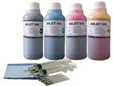 Ink refill kit for HP 63 ENVY 4520 OfficeJet 3830 3831 3832 3834 4650 4x250ml