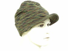 US Army Jeep Cap Green Camo 3-color Strickmütze WWII Boonie Hat Watch Cap Navy