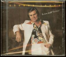 GEORGE JONES I AM WHAT I AM He Stopped Loving Her Today If Drinkin' Don't NEW CD