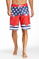 BILLABONG AMERICAN UNIFIED BOARD SHORTS MENS SIZE 33 NEW WITH TAGS