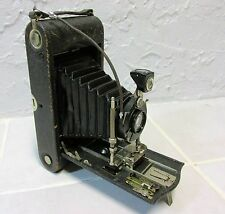 VINTAGE 1910s KODAK MODEL 3A AUTOGRAPHIC MODEL C CAMERA  WITH FILM INSIDE