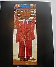 Friedensreich Hundertwasser European Man Twirling His Mustache 14x11