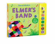 Elmer's Band: A Press-Button Sound Book (Elmer Sound Book) New Book