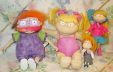 RUGRATS DOLL LOT ICE CREAM FACE CHUCKIE, ROLLER SKATE & SWIMMING ANGELICA & MOM