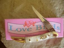 Love Birds Oyster Shell Swirl Pearl Texas Toothpick LB41068