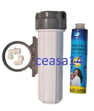 "For RO,UV,Aquaguard Water Purifier 10"" PreFilter bowel Set + 9"" threaded filter"