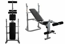 Weight Training Bench Chest press leg extension folding adjustable multi gym