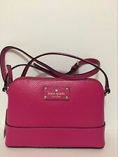 NWT KATE SPADE Wellesley HANNA SWEETHEART PINK Leather Crossbody Bag $198