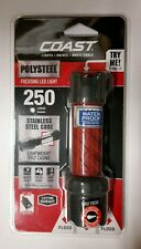 Coast polysteel 200 focusing LED flashlight  250 lumens