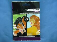 GOOD Vs  EVIL  Disney Pin 5 PINS Collectible PIN PACK Mystery NEW 2012  SALE!!!!