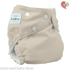 FUZZIBUNZ FUZZI BUNZ NAPPY ONE SIZE CLOTH DIAPER W/ HEMP INSERT x1