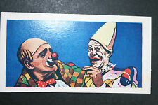 CLOWNS MAKE-UP     Large Illustrated Card  VGC / EXC