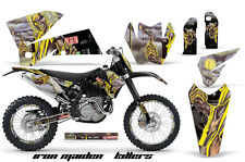 AMR Racing KTM C4 EXC/SX/MXC/SMR Graphic # Plate Kit MX Bike Decal 05-07 IM KILL