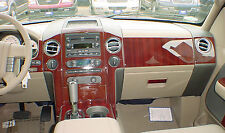 Fits Mazda 626 98-99 Interior Wood Pattern Dash Kit Trim Panels Parts