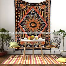 Mandala Tapestry Wall Hanging Dorm Decor Home Curtain Bohemian Hippie Sun Celtic