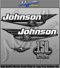 JOHNSON 150hp OCEANPRO - DECAL KIT - OUTBOARD DECALS