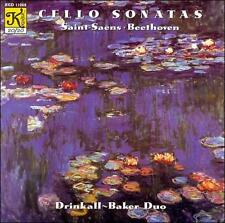 Saint-Saens: Cello Sonata in C minor Op. 32; Suite for Cello Op. 16 / Beethoven