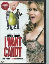 DVD - I WANT CANDY / CARMEN ELECTRA  ENGL / NL region 2